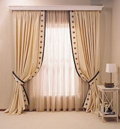 Пошив классических штор