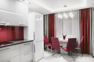 Галерея кухонных штор фото-17
