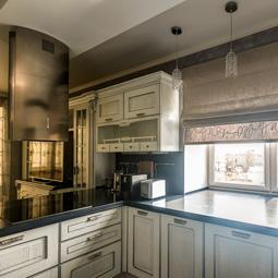 Галерея кухонных штор