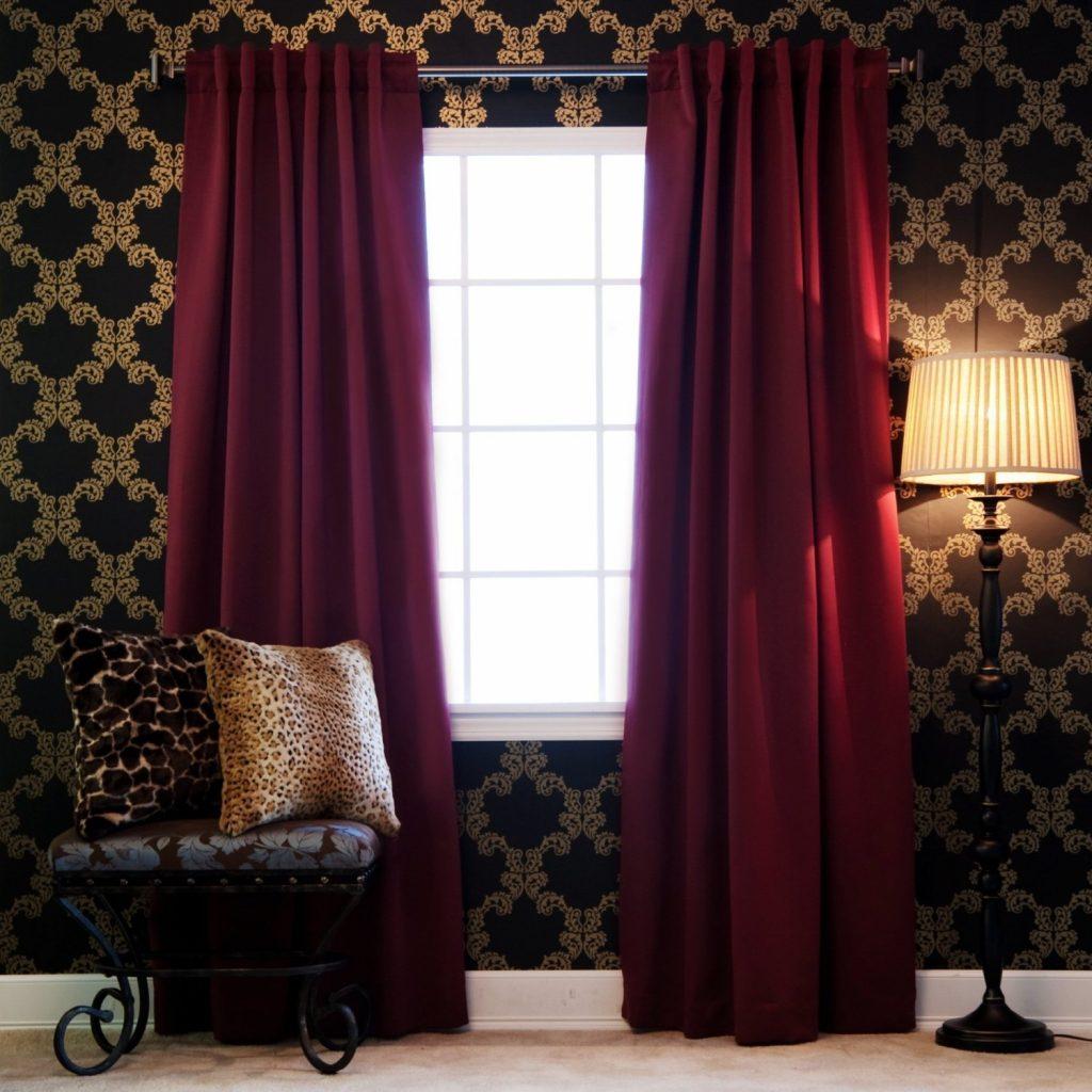 Бархатные шторы фото 4