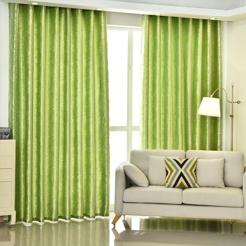 зеленые шторы фото 1