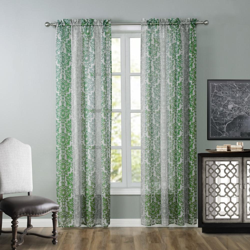 зеленые шторы фото 2