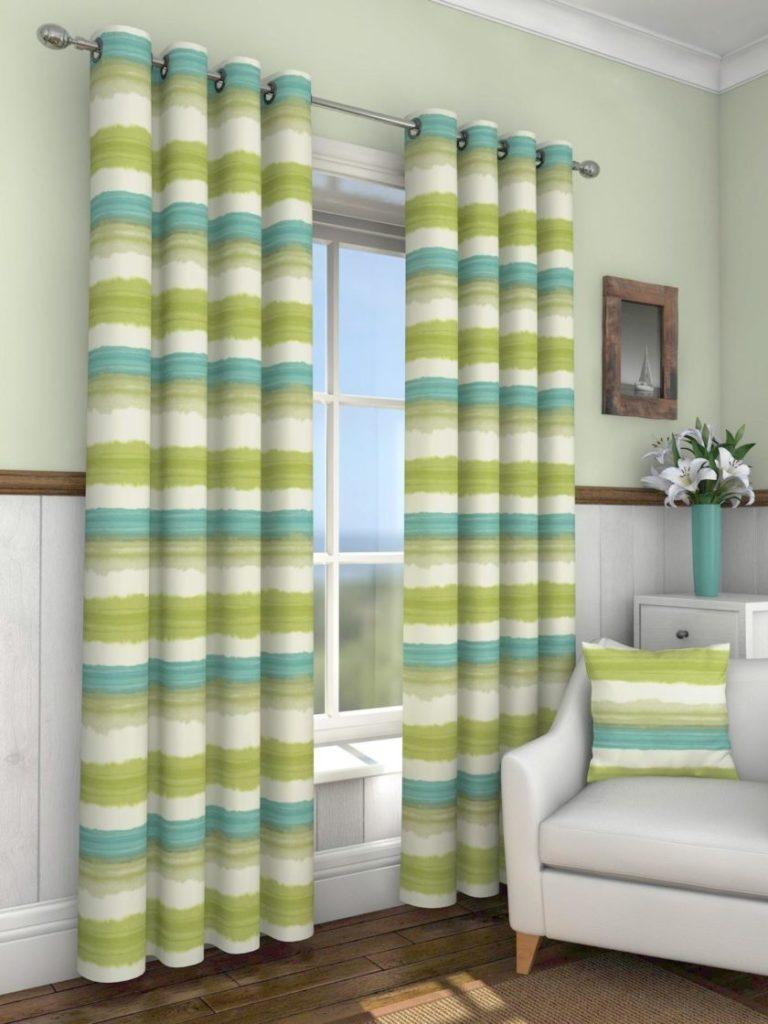 зеленые шторы фото 5