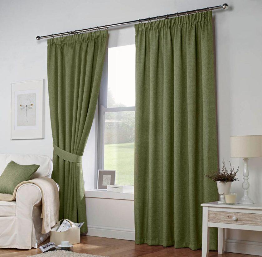 зеленые шторы фото 4