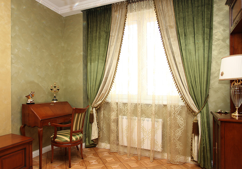 Бархатные шторы фото 5